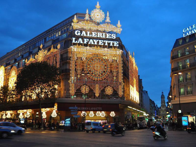 Lafayette Galeries in Paris, France